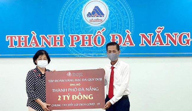 Hai doanh nghiệp của ông Đỗ Minh Phú ủng hộ Đà Nẵng 4 tỷ đồng 1
