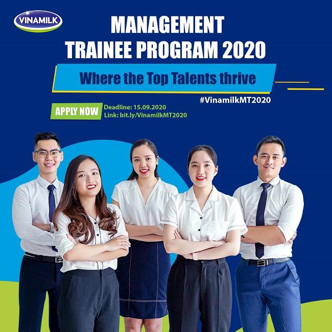 Vinamilk chính thức khởi động chương trình 'Quản trị viên tập sự 2020' 2