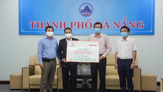 Tập đoàn Hưng Thịnh tiếp sức Đà Nẵng và Quảng Nam phòng chống dịch Covid-19 2