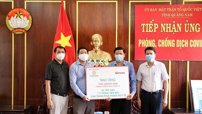 Tập đoàn Hưng Thịnh tiếp sức Đà Nẵng và Quảng Nam phòng chống dịch Covid-19 3