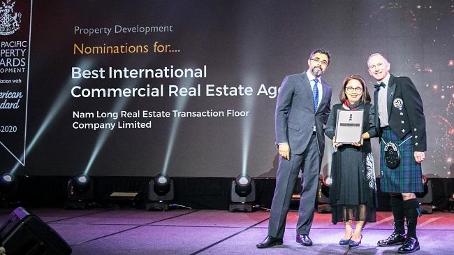 Sàn Nam Long ghi dấu ấn mạnh mẽ bằng giải thưởng quốc tế