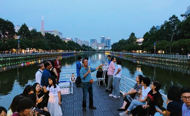 """Ông Phan Xuân Anh, người biến kênh Nhiêu Lộc thành một """"Venice"""" cho Sài Gòn 1"""