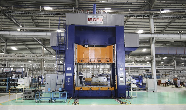 Tổ hợp cơ khí Thaco Chu Lai là mô hình trung tâm cơ khí đa dụng đầu tiên tại miền Trung 3