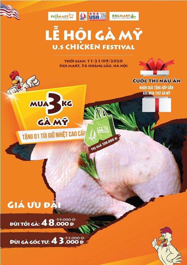 """BRG Retail lần đầu tổ chức """"Lễ hội gà Mỹ"""" kích cầu tiêu dùng nội địa 1"""