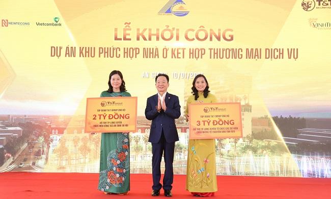 T&T Group khởi công Khu phức hợp nhà ở - thương mại dịch vụ tại TP. Long Xuyên 1