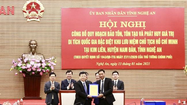 T&T Group tài trợ quy hoạch bảo tồn, tôn tạo Khu lưu niệm Chủ tịch Hồ Chí Minh