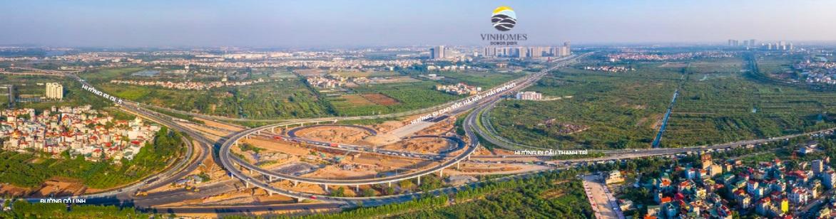 Nút giao Cổ Linh 400 tỷ đồng sẽ mở cửa ngõ phía Đông Hà Nội