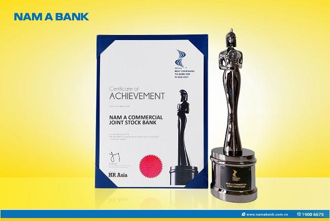 Nam A Bank nhận giải nơi làm việc tốt nhất châu Á