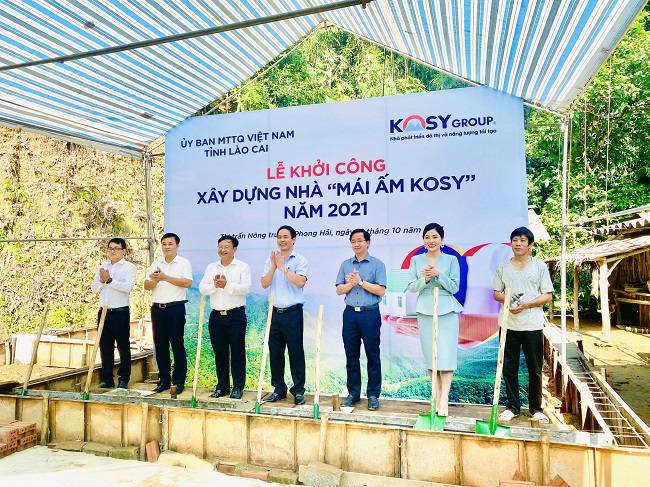 Tập đoàn Kosy ủng hộ 10 tỷ đồng xây dựng 200 ngôi nhà cho hộ nghèo tại Lào Cai 2