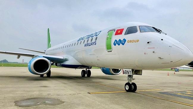 Bamboo Airways đón thêm phản lực Embraer, sẵn sàng tái khai thác đường bay thương mại