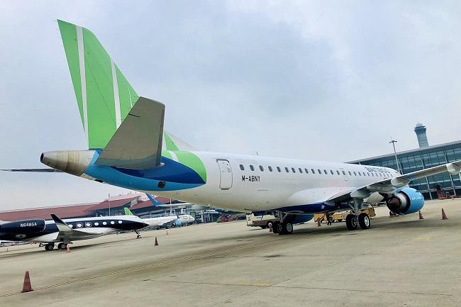 Bamboo Airways đón thêm phản lực Embraer, sẵn sàng tái khai thác đường bay thương mại 2