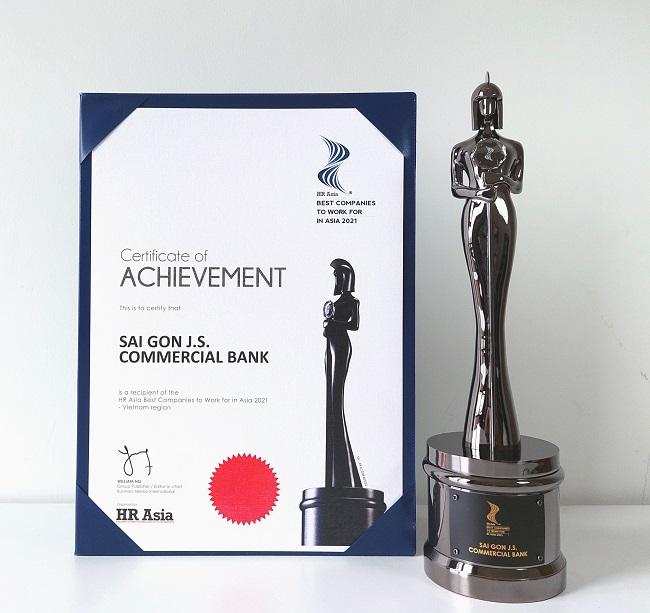 SCB nhận giải 'Nơi làm việc tốt nhất châu Á 2021'