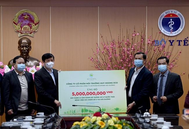 Ecopark ủng hộ 13 tỷ đồng cho công tác phòng chống dịch Covid-19 1
