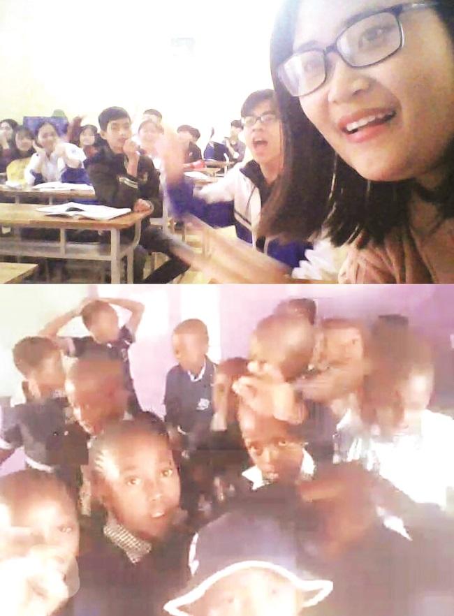 """Cô giáo đưa học sinh """"vượt biên"""" đi khắp thế giới"""
