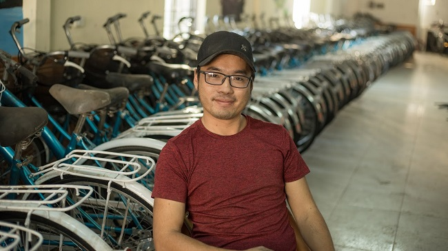 Hồi sinh những chiếc xe đạp cũ tặng học sinh vùng cao 1