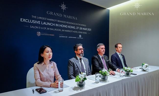 Masterise Homes đem Grand Marina Saigon ra thế giới 1