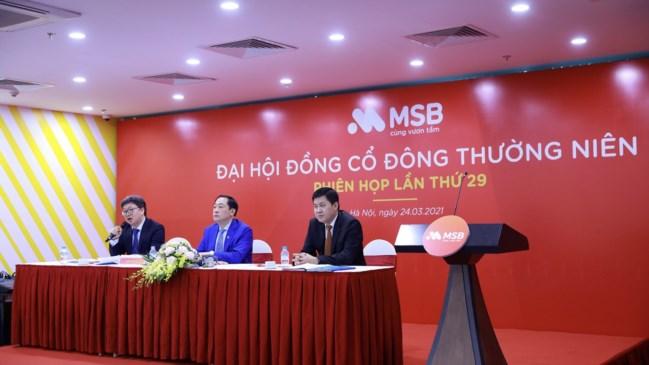 MSB đặt mục tiêu tăng 30% lợi nhuận