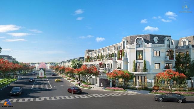 Biệt thự, nhà phố thương mại tiếp tục là kênh đầu tư hấp dẫn tại phía Tây Hà Nội 1