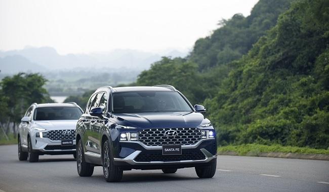 Hyundai Santa Fe 2021 chính thức ra mắt tại Việt Nam 3