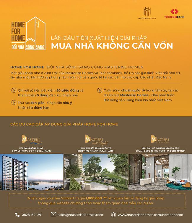 Sau bất động sản hàng hiệu là giải pháp nhà đổi nhà: chiến lược của Masterise Homes là gì? 2