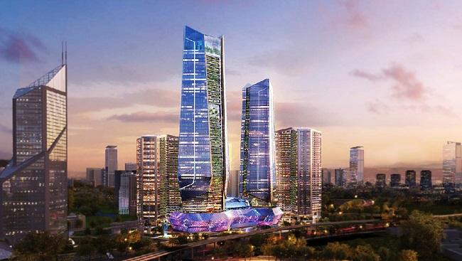 Tập đoàn nào gắn với 3 Financial Hub theo trục Bắc - Trung - Nam?