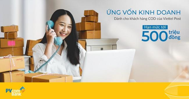 PVcomBank và Viettel Post ra mắt giải pháp ứng vốn kinh doanh trên nền tảng số 1