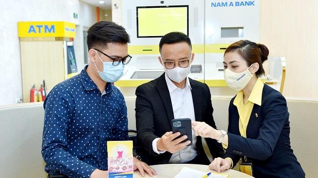 Nam A Bank trong Top ngân hàng Việt đầu tiên chuyển khoản nhanh NAPAS 247 bằng mã QR