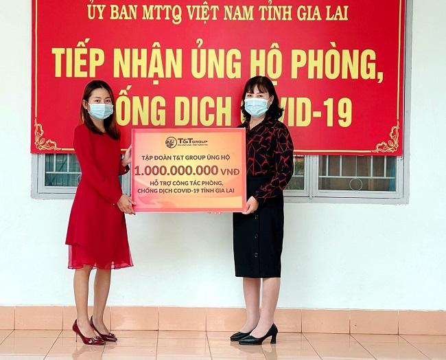 Tập đoàn T&T Group ủng hộ 2 tỷ đồng giúp Gia Lai chống dịch Covid-19 1