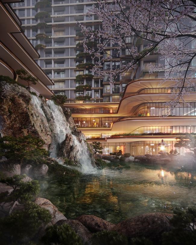 3 tập đoàn huyền thoại Nhật Bản triển khai tổ hợp căn hộ Onsen đầu tiên Việt Nam 1