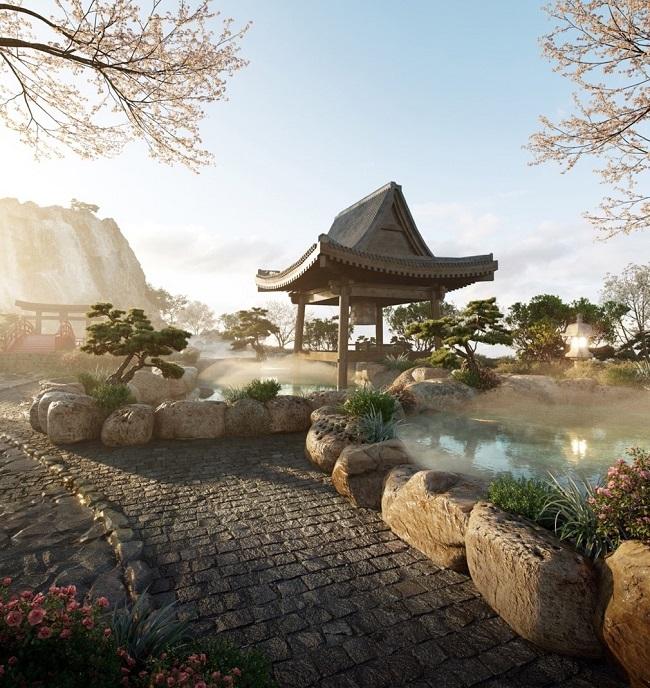 """Cận cảnh tổ hợp onsen 1.000 tỷ trong Ecopark, phát triển bởi 3 """"ông lớn"""" Nhật Bản 2"""