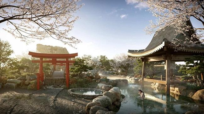"""Cận cảnh tổ hợp onsen 1.000 tỷ trong Ecopark, phát triển bởi 3 """"ông lớn"""" Nhật Bản 3"""