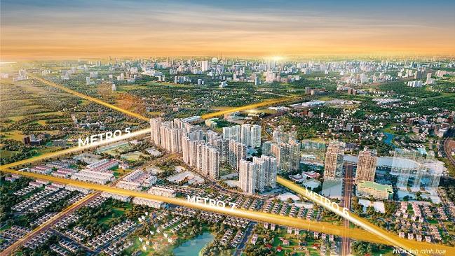Vì sao các nhà đầu tư lại săn lùng dự án căn hộ The Metrolines?