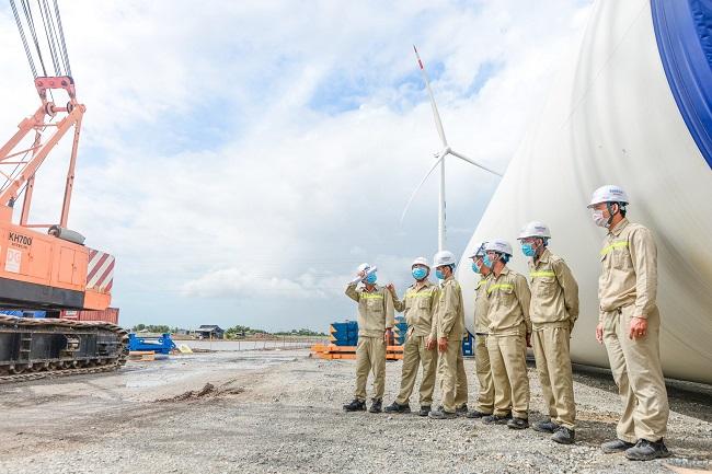 """Tập đoàn Kosy đẩy nhanh tiến độ thi công nhà máy Điện gió Kosy Bạc Liêu trước """"giờ G"""" 2"""