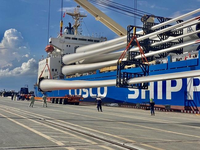 """Tập đoàn Kosy đẩy nhanh tiến độ thi công nhà máy Điện gió Kosy Bạc Liêu trước """"giờ G"""" 3"""