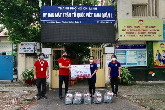 Tập đoàn BRG cùng SeABank hỗ trợ chính quyền và người dân TP.HCM 1