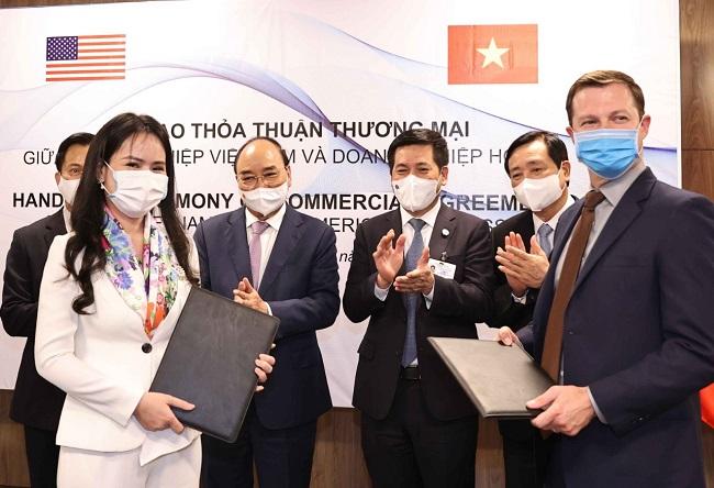 T&T Group và đối tác Mỹ ký các hợp đồng hợp tác trị giá 3 tỷ USD