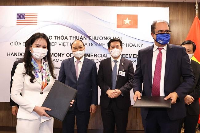 T&T Group và đối tác Mỹ ký các hợp đồng hợp tác trị giá 3 tỷ USD 1