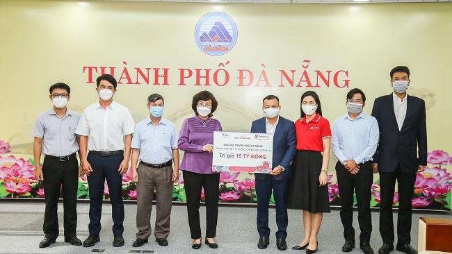 BRG và SeABank bàn giao thiết bị y tế trị giá 10 tỷ đồng cho Đà Nẵng