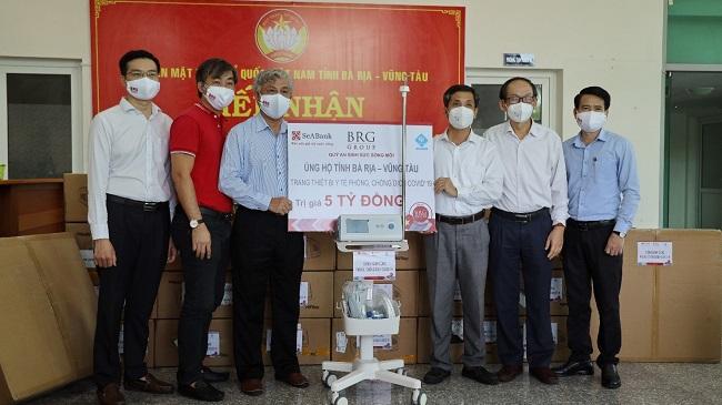 OSC Việt Nam hỗ trợ tỉnh Bà Rịa – Vũng Tàu thiết bị y tế trị giá 5 tỷ đồng