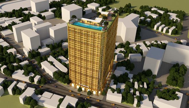 Hoà Bình ra mắt 3 siêu dự án dát vàng 24K 1