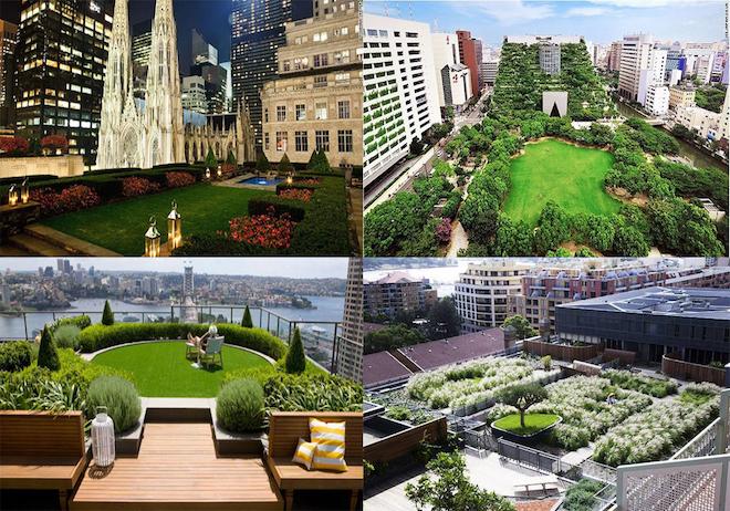 Vườn trên cao: Xu hướng kiến trúc đô thị