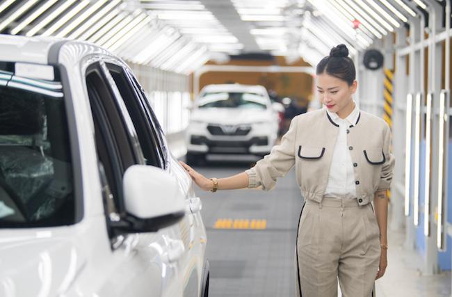 Đả nữ Ngô Thanh Vân làm đại sứ thương hiệu cho ô tô VinFast 2