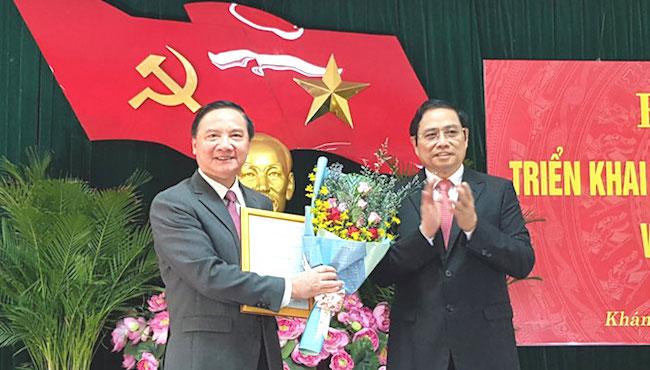 Ông Nguyễn Khắc Định giữ chức Bí thư Tỉnh uỷ Khánh Hoà