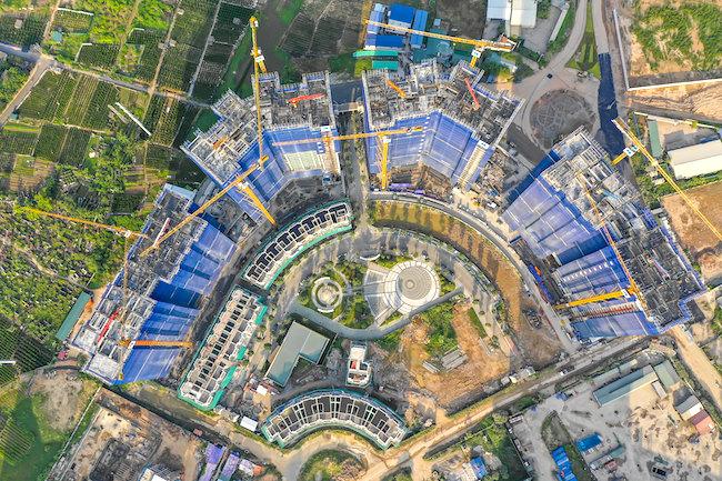 Bất động sản Hà Nội tăng trưởng cao hơn TP. HCM