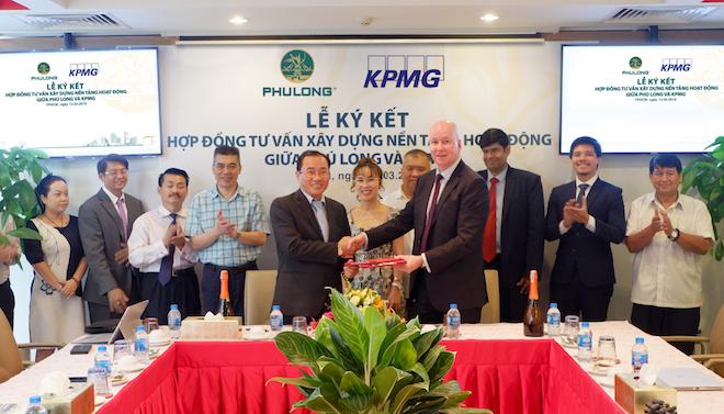 KPMG tư vấn xây dựng nền tảng hoạt động cho Phú Long 1