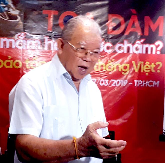 Giáo sư Võ Tòng Xuân: Phải bỏ luôn dự án 'Bộ tiêu chuẩn nước mắm'
