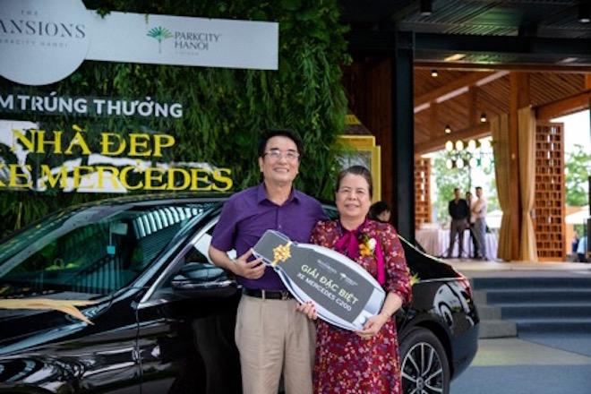 ParkCity Hanoi trao thưởng hành tỷ đồng cho khách mua biệt thự The Mansion.
