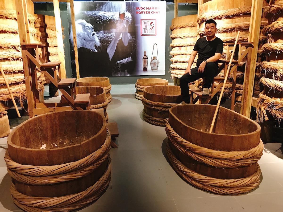 Người đầu tiên làm bảo tàng nước mắm tại Việt Nam 1