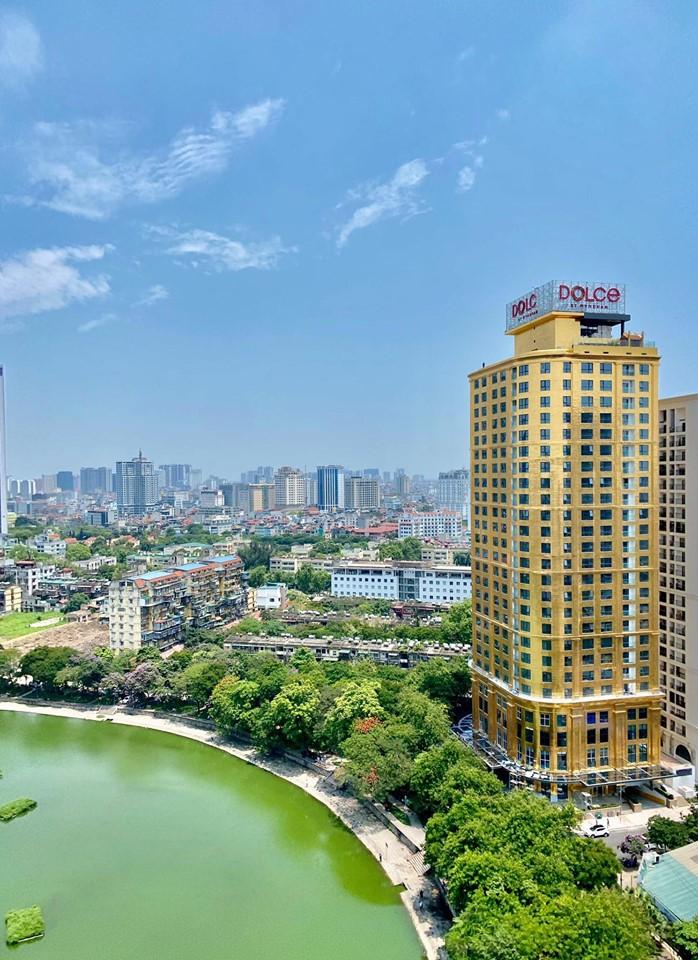 Chiêm ngưỡng khách sạn phủ vàng từ chân đế tới nóc sắp khai trương ở Hà Nội 2