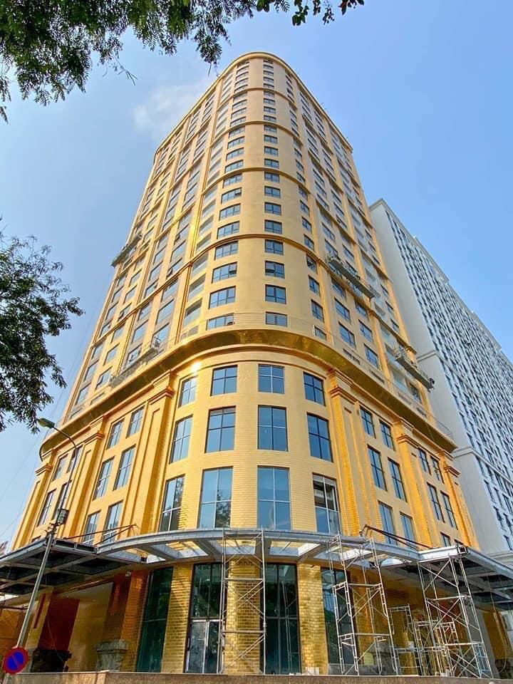 Chiêm ngưỡng khách sạn phủ vàng từ chân đế tới nóc sắp khai trương ở Hà Nội 3